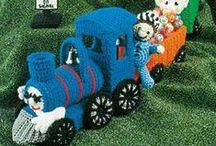 Szydełko - zabawki