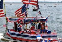 Boat Decorating Contest Ideas / Here are ideas to get you ready for the annual 4th of July celebrations on Manchaug Pond with the Boat Decorating Contest!