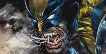 Marvel & DC Comics Characters