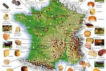 French Foods / France is synonymous with good food. Living in France I have a much healthier respect for the artisans, eating local and the simple love of food.