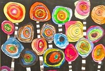 preschool art / art # crafts # painting / by Vero21