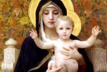 Our Lady / O Blessed Virgin Mary, I commit myself to Thee. Aid me to do Thy Work.