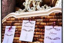 Tableau de mariage a Villa Affaitati / Alcune idee per il vostro tableau
