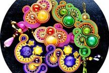 My soutache passion / https://www.facebook.com/suspiriadesign