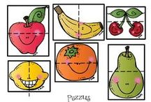 Preschool food theme / Food, healthy food, fruits, vegetables, where does the food come from, ...