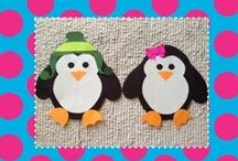 Preschool penguin/artic animals / penguin, polar bears, seals, ...