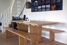 Meubles sur-mesure / Vous trouverez ici les réalisations sur-mesure (tables, lit, étagères,...) des ébénistes de Zelip. A retrouver sur www.zelip.co