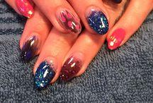 Shannon Sanders, nail technician