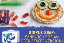 Simple Swaps / Easy, better-for-you alternatives to conventional lunchbox foods!