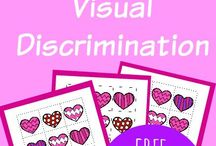 Preschool visual discrimination