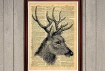ANTIQUE PRINTS / Quality Antique Prints for your home and office!