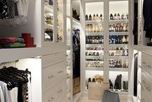 Home walk in closet