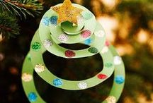 Preschool christmas tree deco