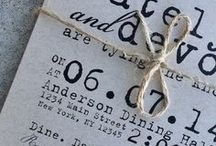 Wedding invitations/graphics / Inspiration for wedding invitations
