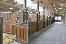 Project: Equestrian Stables / These Equestrian Stables are part of an elite show jumping facility located in North Yorkshire. The renovated agricultural buildings, alongside newer constructions, benefit from modern technology to improve the equestrian facilities whilst not detracting from the original characteristics.