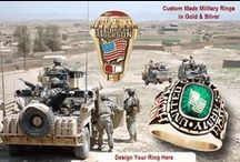 Military Rings / Military Rings custom made in Gold and Silver for all units and divisions. Customize your ring at Military Online Shopping. Great Offers