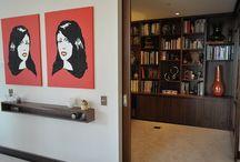 ZOKK Furniture / Wall unit  in Wallnut  with desk