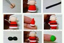 kerstmis knutselen / alle dingen voor kerst knutselen