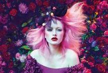 Garden Delights / A floral fantasy of interiors and garden inspired fashion...