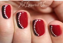 Nail art, paso a paso / No son mis diseños,yo solo he sacado las imágenes de internet y de pinterest.