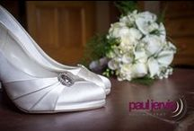 Wedding Shoes / A selection of Wedding Shoe inspiration taken by Paul Jervis Photography , Northern Ireland. Wedding and Portrait photographers. Check out www.pauljervisphotography.co.uk