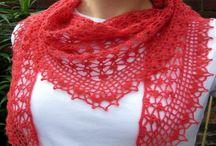 Crocheted garments