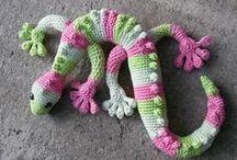 Crocheted amigurumi