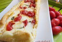 Torte rustiche, pizze e focacce / Torte salate, strudel, pasta sfoglia, pasta brisee, pizze e focacce, mini tartine e rustici vari...