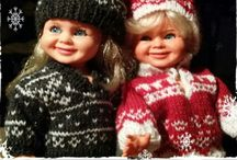 Tjorvenclothing / Jeg syr, hekler og strikker klær til 60-70 tallets flotte Ratti dukke Tjorven og hennes venner