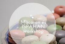 MACARON és ISPAHAN workshop / Macaront készitünk Juliette McAronnal 1., Bemutatkozás MACARON kóstolással. A finomságokat Kata/ Juliette Mc Aron biztosítja a csapat számára.  2., Elméleti rész: egy kis macaron történelem, receptek ismertetése, sütési fázisok, alapanyagok, beszerzési helyek. 3., Macaron massza készítése. 5., Macaron töltése - 4 féle töltelékkel: csoki, gesztenye, kávé, szilva. 6., A kévés töltelék közös elkészítése. 7., Macaron csomagolása, hogy CSODASZÉPEN vidd haza, amit elkészítettél.
