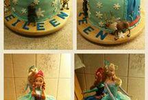 My creations / Birthday cakes