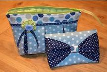 Sewing bags, purses and wallets