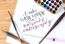 Calligraphy funky