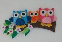 felt / handmade creations !!!!
