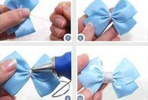 Kanzashi/ribbon hair bows etc.