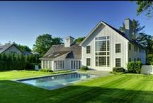 Laurel Hollow Barn Home / A board and baton beauty of a barn style farmhouse, this post and beam home has some truly special features within its 3,500 square feet of living space.