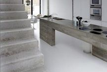 Concrete / A collection of concrete floors, buildings, walkways, patios, countertops and more.  / by Wagner Meters