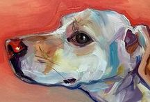 Dog Art - Dog as Subject / Dog Art is made up of Dog Paintings and Mixed Media. There are other boards for Dog Illustration, Dog Photography, and Dogs in all other media.  Thanks to all the creative people who have made the ultimate dog treat for humans - Dog Art. If you want your work removed, just say the word. Thanks / by Conspicuous Dog Lover