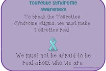 Tourette Syndrome / I struggle with this disorder, but I also see it as a new way of looking at life, a gift of God because He has special plans for my life to accomplish His will.