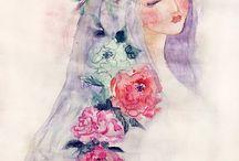 花和女孩 • Hana & Alice
