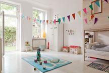 Kids rooms. Nurseries. Home decoration
