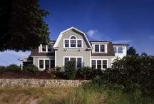 Rye Harbor Home / This Rhode Island home was built on one of the few remaining beachfront lots in the area. The Rye Harbor Home  incorporates strong shingle style influences from the Victorian era.  The classic Cape Cod style home plan features 3,318 square feet of post and beam living space, 3 bedrooms and 3 baths.