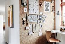 HOME OFFICE / inspiration for the perfect creative workspace, home office or art studio for creative entrepreneurs