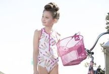 Spring Summer 16 Beach Fun! ✿●•٠·˙ / Swimwear for girls, latest collection from Submarine Swim! SS16!
