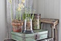 wonen natuurlijke stijl / Inspiratie voor aan de muur in huis, woonkamer, keuken, of waar het past. Decoratie met een vintage smaakje. Rustiek, natuurlijk, hout en lichte kleuren.