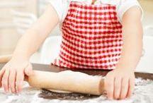 Mamaliefde ❤ Kids Cooking (Koken met kinderen) / Overzichtsbord met pinterest inspiratie voor het koken met kinderen als onderdeel van de ontwikkeling of het onderwijs, op een leuke spelende wijze.