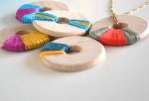 Mamaliefde ❤ Jewelry (sieraden) / Een overzicht en pinterest inspiratie van allerlei creatieve DIY knutsels en project ideeën met sieraden en juwelen in allerlei vormen, kleuren