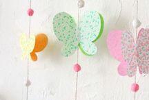 Mamaliefde ❤ Paper (Papier) / Een overzicht en pinterest inspiratie van allerlei creatieve DIY knutsels en project ideeën met papier in allerlei vormen, kleuren en maten.