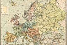 vintage maps / by Astrid den Boer