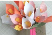 Paper & material Flowers